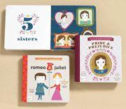 Jane Austen board books - start 'em young!! @Kayla McKinnon @Ashley Monasmith