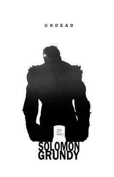 Solomon Grundy - Undead by Steve Garcia
