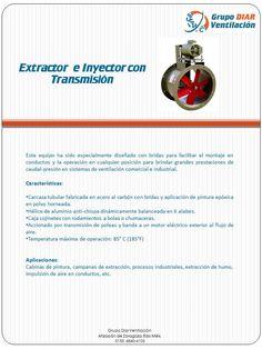 extractor tubular con transmision