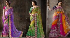 Fancy Sarees you would fall in love with