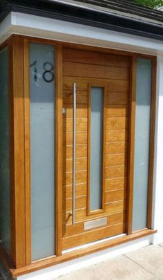 house number etched glass - Google Search