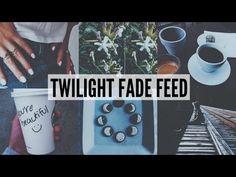 INSTAGRAM FEED: TWILIGHT FADE THEME - VSCO TUTORIAL - YouTube