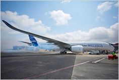 Primer arranque de motores de un A350