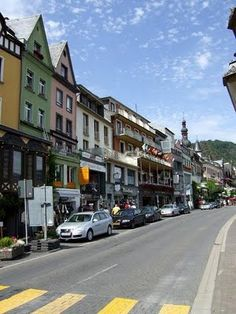 Cochem--Awesome place in Germany I LOVE it here!  Right on the Mosel River