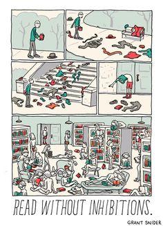 incidentalcomics:  The Joy of Reading #3