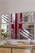 Union Jack mirror #union #jack @Susan Wallace