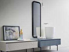 MOODE Mobile lavabo in frassino by Rexa Design design Monica Graffeo