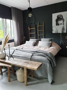 BEST SMALL BEDROOM DECORATION IDEAS 2019 - Page 9 of 36 small bedroom; small bedroom ideas for couples; small bedroom ideas for women; Small Room Bedroom, Cozy Bedroom, Master Bedroom, Bed Room, Scandinavian Bedroom, Bedroom Wardrobe, Small Bedroom Colours, Sleep Room, Narrow Bedroom