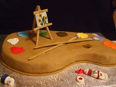 1000+ images about Artists palette cakes on Pinterest ...