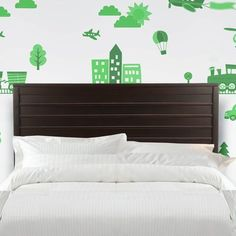 Refresh your master suite or guest room with this lovely headboard.