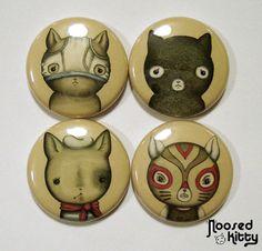 Cat Button Set
