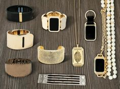 Wearable tech in jewelry:  monitors your walking, offers security options, reminders & alerts for forgetting your phone or getting an important call.