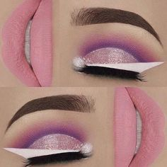 WEBSTA @ makeupaddictioncosmetics - @molliexjayne used our Valentine pigment for this stunning pink look.#MADDPigments#makeupaddictionbrushes#makeupaddictioncosmetics
