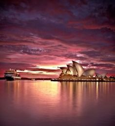 Sydney sunset - Australia
