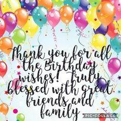 Thank You Quotes For Birthday Be Yourself Wishes Happy