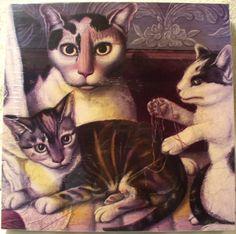 Cat and Kittens Jigsaw Puzzle 500 Fine Art | eBay $14