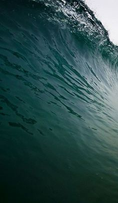Waves in blue + green...