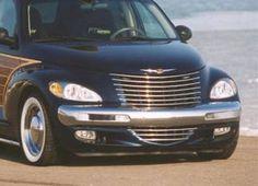 Chrysler PT Cruiser Accessory - PT Woody Chrysler PT Cruiser Chrome Grille Kit