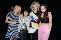 Kim Gordon, Joan Jett, St. Vincent and Lorde.