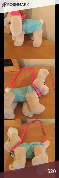 Poochie & Co puppy dog sequin Aqua green purse New Poochie & Co girls puppy dog sequin details purse hand bag . Poochie & Co Accessories Bags