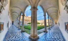 Perspective of Light. HDR image of Certosa san Martino Napoli/Naples   HDR Photography Giuseppe Sapori