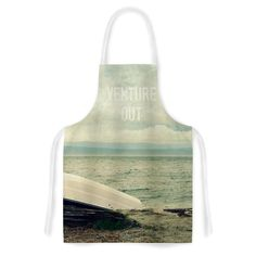 "Robin Dickinson ""Venture Out"" Boat Artistic Apron"