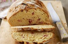 Bread with Bacon and Cheese