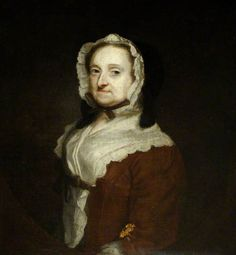 Portrait of an Unknown Woman (called 'Lady Thornhill') (previously attributed to William Hogarth) by Joshua Reynolds (style of) Oil on canvas, 76 x 62 cm Collection: National Trust Joshua Reynolds, Mourning Dress, The Woman In Black, William Hogarth, Art Uk, Sculpture Art, Sculptures, Female Art, 18th Century