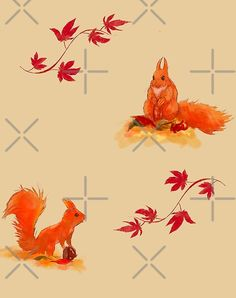Squirrel ?  by mi2creation | Redbubble Top Artists, Squirrel, Rooster, Winter, Shop, Animals, Winter Time, Animales, Animaux