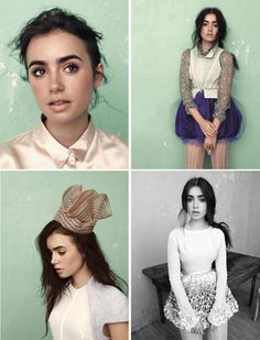 I just LOVE Lily Collins!