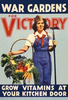 Victory Garden Revivalism - Vintage Kitchen Vixen