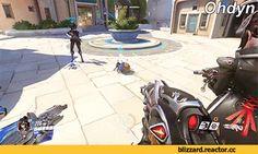 Overwatch,Blizzard,Blizzard Entertainment,фэндомы,Widowmaker,Overwatch gif
