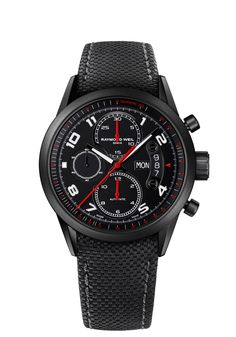 d455b1bde2d Freelancer 7730-BK-05207 Mens Watch - Freelancer automatic chronograph  Urban Black