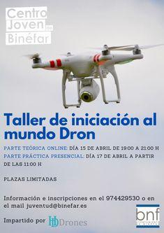 Talleres para ayuntamientos Drones, Bnf, Academia, Town Hall, Atelier