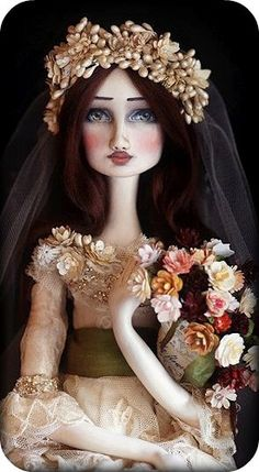 Du Buh Du Dolls - Christine Alvarado art doll