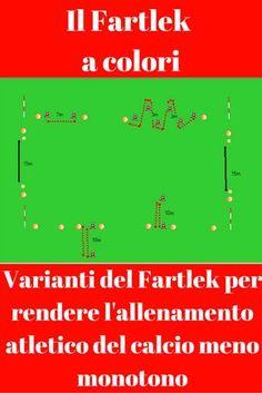 Varianti del Fartlek per rendere l'allenamento atletico del calcio meno monotono