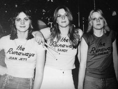 The Runaways with Joan Jett #photography #music #rock