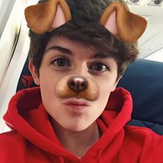 Have you tried this fan-favorite puppy feature?#snapchat has added some fun new features for people to play around with for their selfies. Dylan Dauzat is pictured using this puppy feature and it is so great and fun! If you have not used this filter yet, go on over and give it a try! Instagram - @dylandauzat Twitter - @dylandauzat Photo: Dylan Dauzat/Instagram