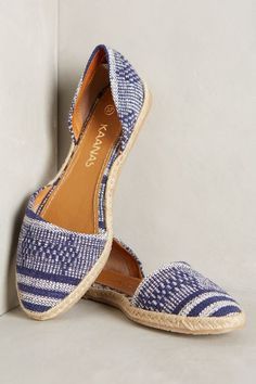 Kaanas Tahiti Espadrilles - anthropologie.com #anthrofave