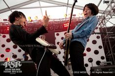 [Champagne]川上洋平・白井眞輝2012/8/10「RISING SUN ROCK FESTIVAL2012inEZO」@石狩湾新港樽川ふ頭横特設ステージ