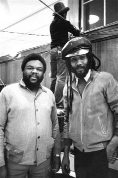 Fatman & Lloydie Coxsone at Sound System Session in 1970s