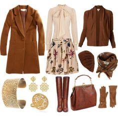 """""""Floral for Fall"""" by angela-windsor on Polyvore"""
