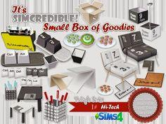 My Sims 4 Blog: SIMcredible!'s Hi-tech Office Set - Geek Deco