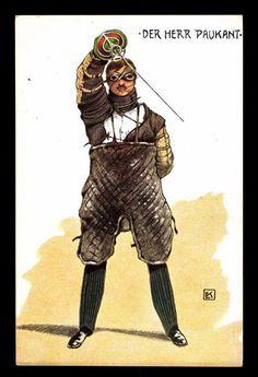 Duel scars german fencing