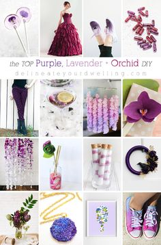 The TOP Purple, Lavender and Orchid DIY crafts, Delineate Your Dwelling