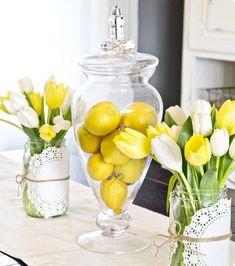 Lemon yellow!