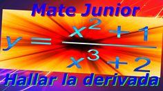 Como derivar un cociente o división