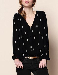 des petits hauts - Genial blouse pineapple
