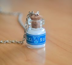 Mini Lon Lon Milk pendant by LeafyBit on Etsy