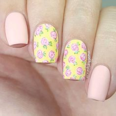 Day 11 of #clairestelle8feb is flowers so I thought I'd try some bright spring colours (especially for you guys under 4 ft of snow on the other side of the world while we suffer through a heat wave!) I love painting floral patterns. I find them so relaxing! 🌹 Products used: China Glaze 'Lemon Fizz' & 'Re-Fresh Mint', OPI 'Small + Cute = ♡', 'Suzi Shops & Island Hops', 'Mod About You', 'Shorts Story' & 'I'm Sooo Swamped', Sally Hansen 'Big Matte Top Coat' & What's Up Nails Pure Color 10…